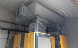 Realizace vzduchotechniky dle požadavků zákazníka