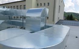 Návrh a výroba vzduchotechniky pro firmy