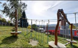 Obec Dolní Žandov, okres Cheb, dětské hřiště