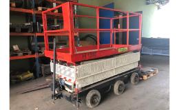 použitá zdvihací pracovní plošina od firmy Montema