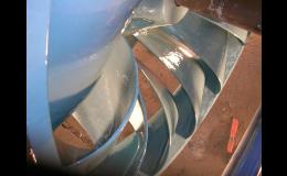 Průmyslový servis - renovace kovů, turbín