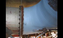 Opravy strojů a potrubí, nátěry proti korozi