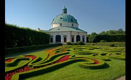 Květná zahrada Kroměříž - světové a kulturní dědictví UNESCO