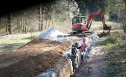 Zásobování vody pro města obce