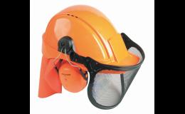 Ochranná pracovní pomůcka hlavy, sluchu a očí