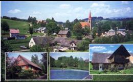Čermná - krásná obec v podhůří Krkonoš