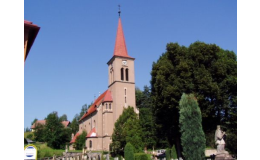 Místní dominanta - kostel sv. Václava