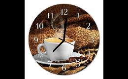 Skleněné hodiny pro firmy eshop