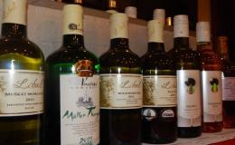 Kolekce vín odrůd typických pro znojemskou vinařskou podoblast