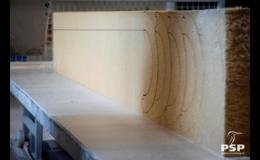 PSP Izoterm – izolační panely, výrobce tvarové izolace