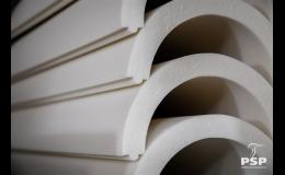 PSP Izoterm – polyuretanové desky a tvarové izolace potrubí