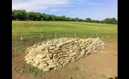 Návrhy prvků pro podporu živočichů – kamenné zídky, broukovitě