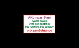 Půjčky a úvěry i pro podnikatele Brno