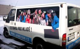 Reklamní polepy nákladních i osobních aut Opava