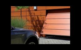 výklopná garážová vrata Uherský Brod