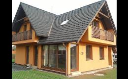 Stavby dřevěných rodinných domů