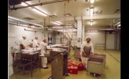 Kompletní projekty potravinářských závodů