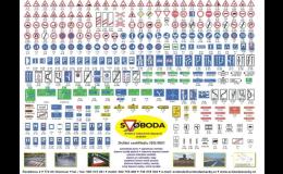 Rychlé a spolehlivé dopravní značky - prodej, instalace