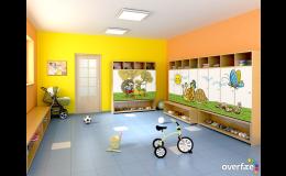 dětské grafické motivy - vhodné pro interiéry mateřské školy