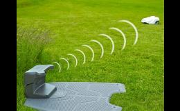 Skvěle posekaný trávník díky robotické sekačce Husqvarna