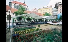 Pronájem party stanů, cateringové služby Praha