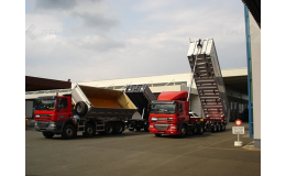 Rychlá přeprava sypkých materiálů - SIHELSKÝ Kolín