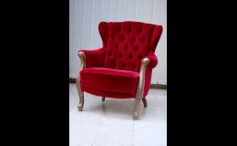 Renovovaný čalouněný nábytek