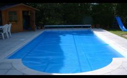 Solární plachty na bazény