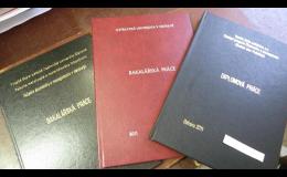 Vazby bakalářských a diplomových prací Ostrava