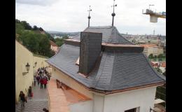 Oprava a rekonstrukce střechy Praha