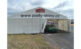 Party stan, montované - stanové haly Praha