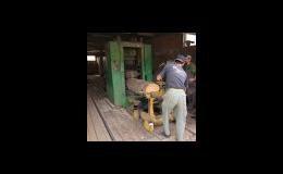 Zpracování dřeva - Pila Lubná