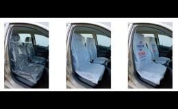 Ochranné povlaky sedadel, Liberec