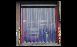 Plastová clona jako průmyslová brána Brno