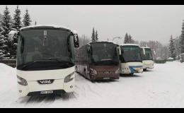 Na dovolenou jedině komfortními autobusy - Ostrava