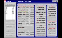 vývoj účetního software Ainex Olomouc