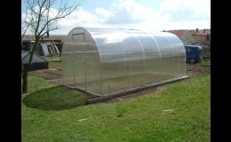 Výroba a montáž skleníkov z lexanu atypických rozmerov Kroměříž