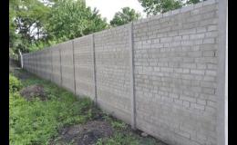 Výroba a prodej plotových sloupků Pohořelice