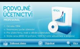 Účetní software pro podvojné účetnictví Prostějov, Olomouc