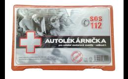 Autolékárnička prodej Praha - pomocník na cestách