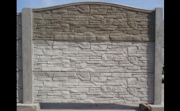 Betonový plot Pohořelice