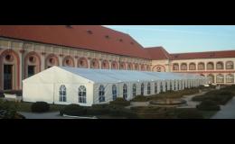Párty stany pro firemní akce Praha