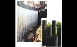 Drenážní prvek Nappe Solpac z vysokohustotního polyetylenu