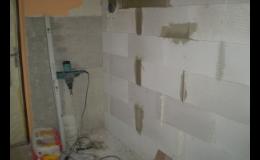 Rekonstrukce bytového jádra a nové koupelny