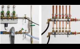 Tlaková zkouška a proplachování radiátorů