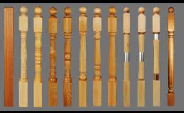 dřevěné součásti na výrobu schodů