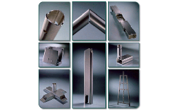 Production of metal parts for furniture, instrument housings Opava, the Czech Republic