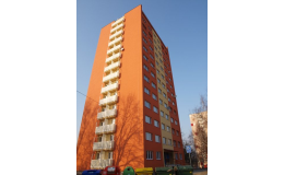 Zateplení fasády bytového domu Ostrava