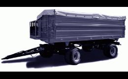 Traktorové přívěsy a návěsy - dopravní zkoušky