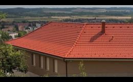 Betonové střešní tašky Terran Brno - prodej